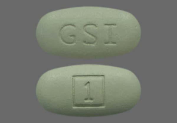 Green Oblong 1 And Gsi - STRIBILD 150mg-150mg-200mg-300mg Tablet