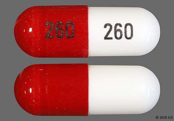 Orange And White 260 260 - Zonisamide 100mg Capsule