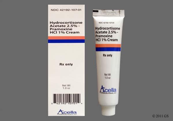 Hydrocortisone / Pramoxine Images and Labels - GoodRx