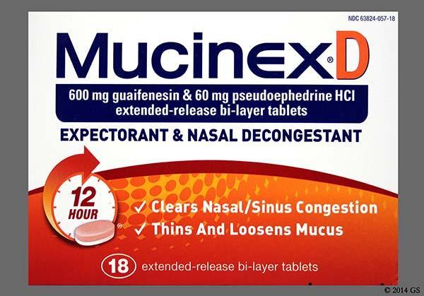 Mucinex DM mellékhatások | Tünetek és betegségek