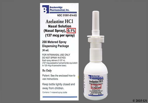 Is azelastine nasal spray a steroid steroid mata