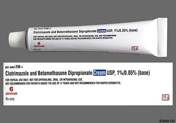 steroid antifungal combo