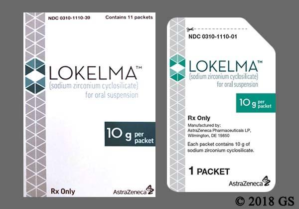 white - LOKELMA 10g Powder for Suspension