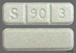 S 90 3 >> Green Rectangular Pill Images Goodrx
