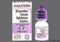 Brimonidine Coupon - Brimonidine 5ml of 0.2% eye dropper