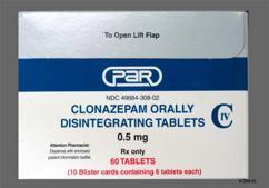 Klonopin (Clonazepam) Basics, Side Effects & Reviews
