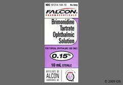 Brimonidine Coupon - Brimonidine 10ml of 0.15% eye dropper