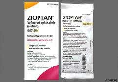 Zioptan Coupon - Zioptan 30 single-use containers of 0.0015% solution carton