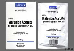 Mafenide Coupon - Mafenide 5 packets of 5% carton