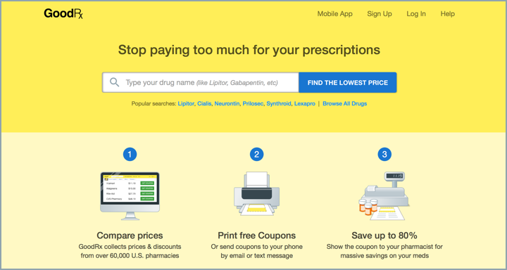 photo regarding Prilosec Coupons Printable Easy named How GoodRx Will work - GoodRx